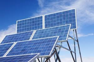 Solaranlage-Solarzelle